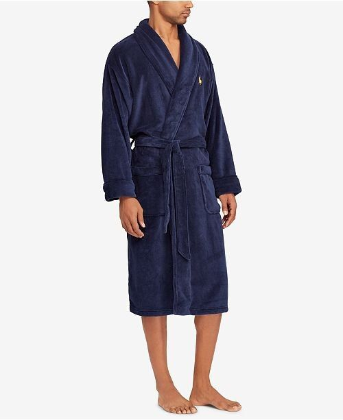 Polo Ralph Lauren Men's Shawl-Collar Robe | Macy's