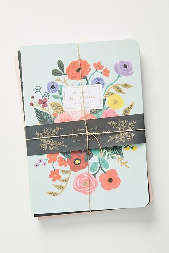 Rifle Paper Co. Journals, Set of 3