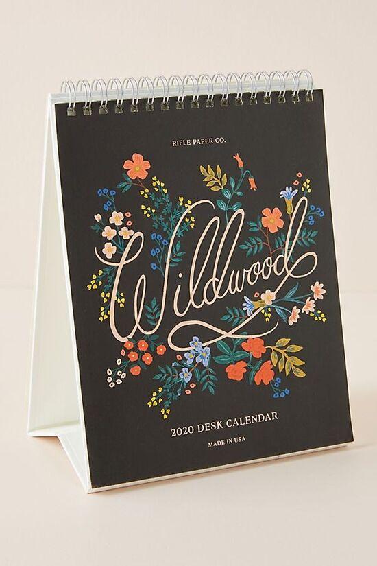 Rifle Paper Co. Wildflower 2020 Desk Calendar