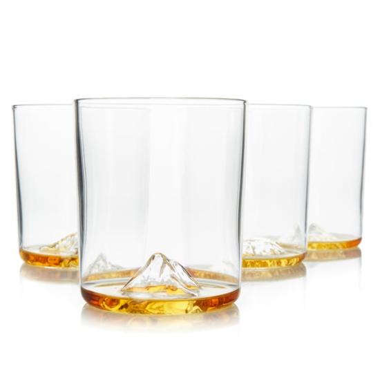 Whiskey Peaks International Mountains - Set of 4