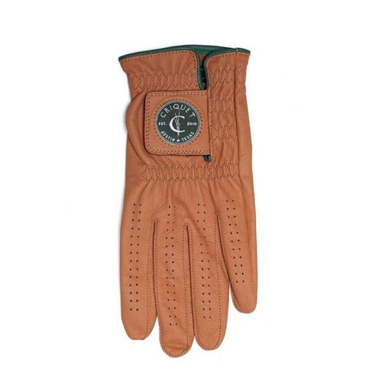 The Driving Golf Glove - Camel
