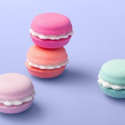 Macaron Bath Bomb Set - 4pc/7oz - More Than Magic™