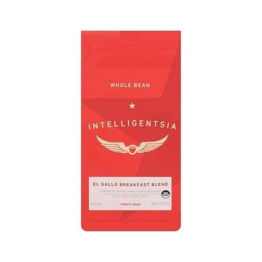 Intelligentsia Direct Trade Organic El Gallo Breakfast Blend Medium Roast Whole Bean Coffee - 11oz