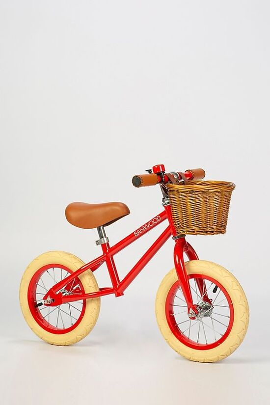 BANWOOD First Go!  Red Balance Bike