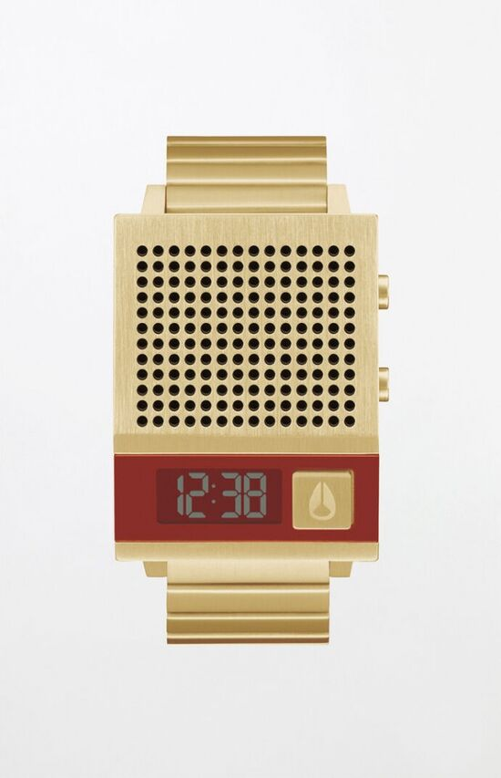 Nixon Gold Dork Too Watch