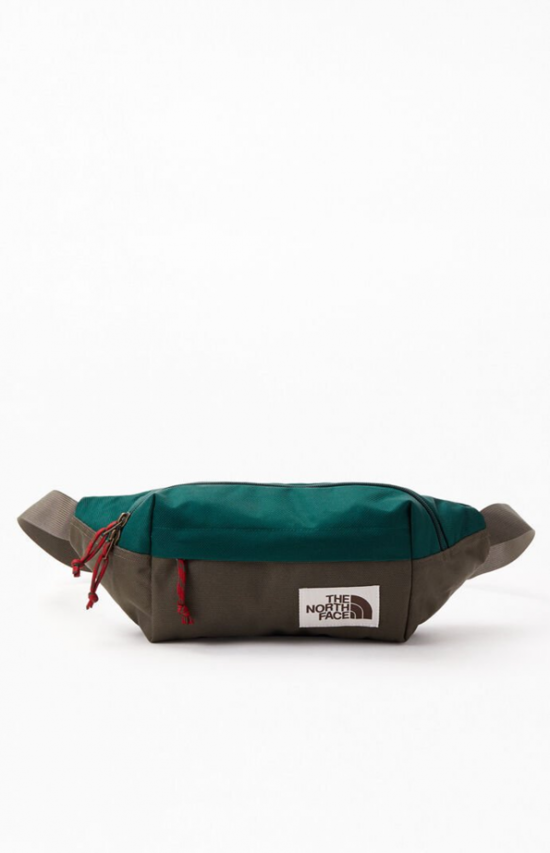 The North Face Green Lumbar Sling Bag