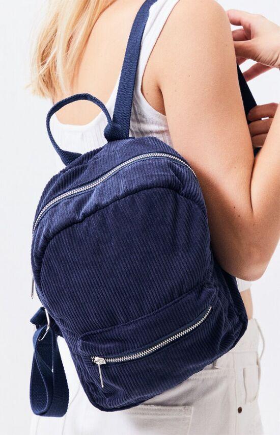 LA Hearts Corduroy Mini Backpack
