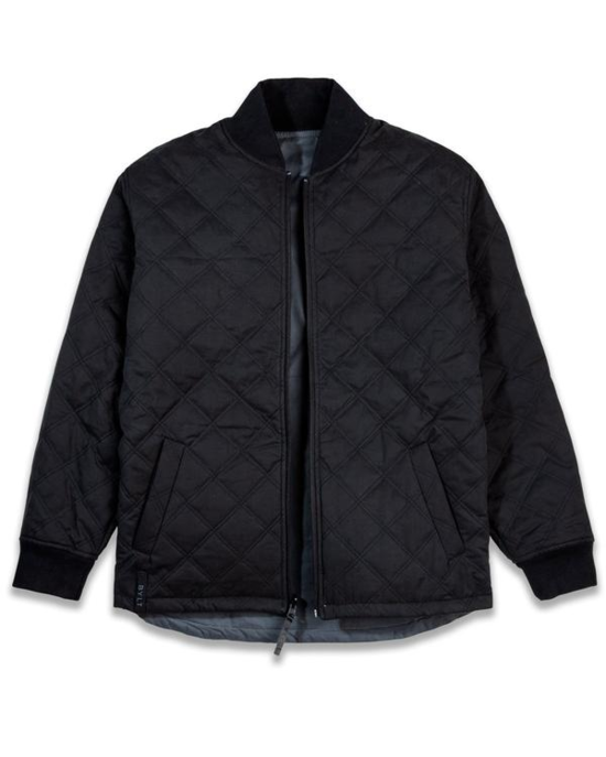 Hi-Lo Reversible Bomber Jacket