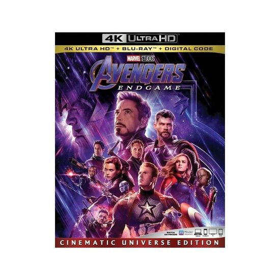 Avengers: Endgame [Includes Digital Copy] [4K Ultra HD Blu-ray/Blu-ray] [2019]
