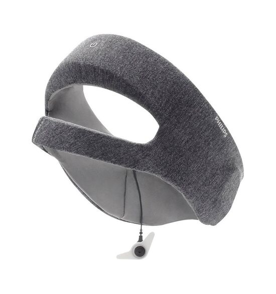 Philips - SmartSleep Deep Sleep Headband (Medium) - Gray