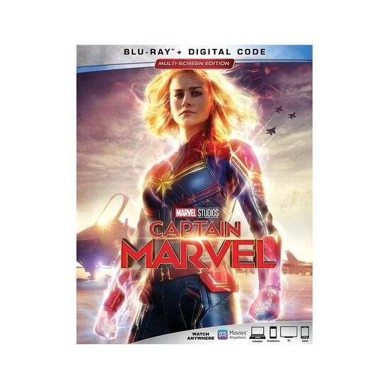Captain Marvel [Includes Digital Copy] [Blu-ray] [2019]