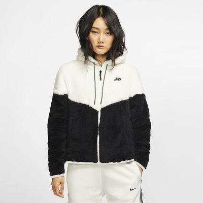 Nike Sportswear Windrunner Women's Sherpa Jacket. Nike.com