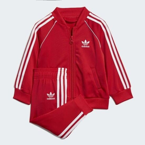 adidas SST Track Suit - Red | adidas US