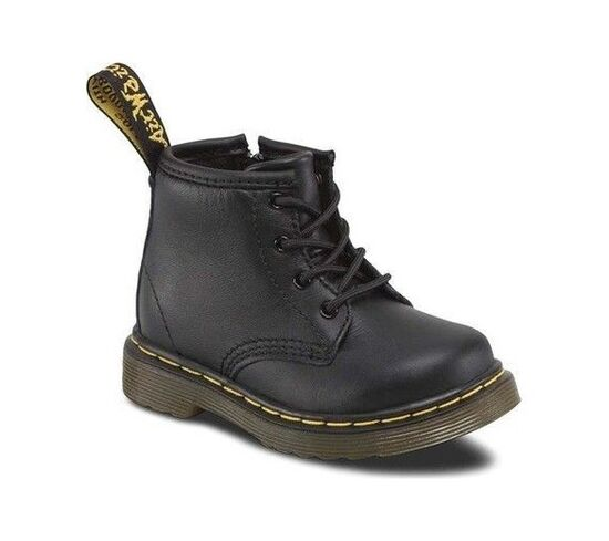 Dr. Martens Brooklee B 4-Eye Lace Boot (patent leather)