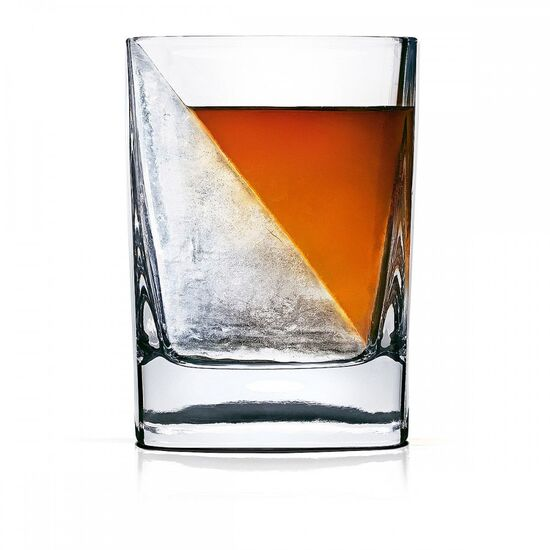 Whiskey Wedge and Glass | unique whiskey glasses