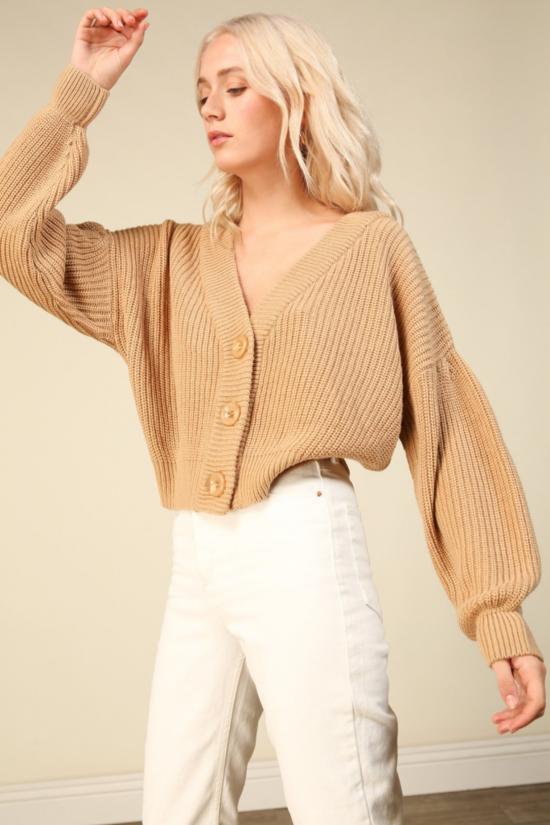 Walnut Cardigan Sweater