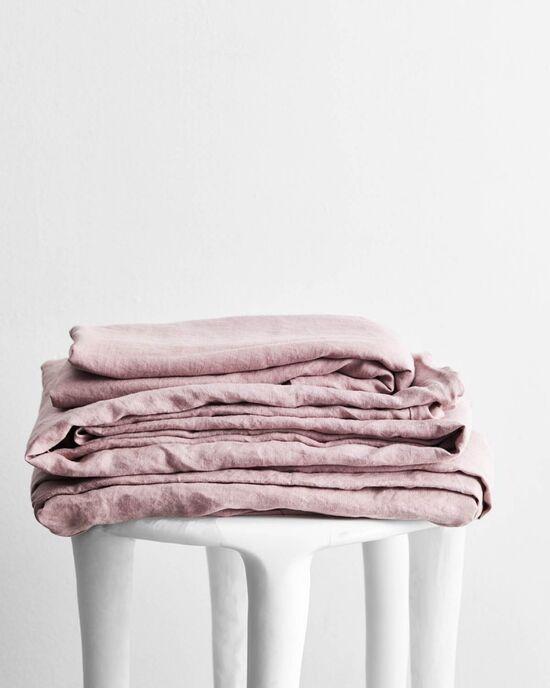Lavender 100% Flax Linen Sheet Set