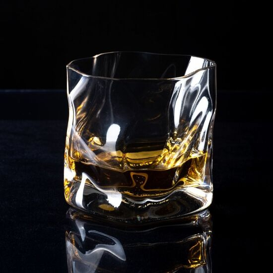 Japan Inspired Whisky Wave Glass