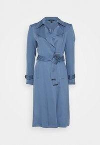 Lauren Ralph Lauren DUSTER - Trenchcoat - slate blue/blå - Zalando.se