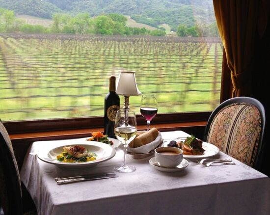 Purchase Gift Certificates   Napa Valley Wine Train