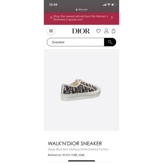 Walk n Dior Sneaker
