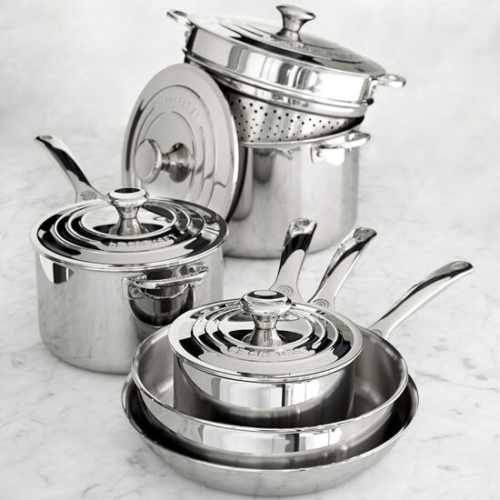10 Piece Stainless Steel Cookware